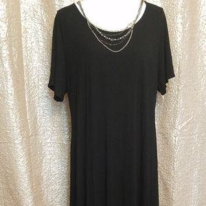 Maxi dress w/ studded bottom